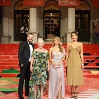 Crew of The Bride from Istanbul, Red Carpet, 25th Sarajevo Film Festival, 2019 (C) Obala Art Centar