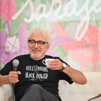 Coffee with... Elia Suleiman, Festival Square, 25th Sarajevo Film Festival, 2019 (C) Obala Art Centar