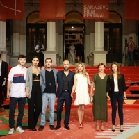 Crew of The Family Markovski, Red Carpet, 25th Sarajevo Film Festival, 2019 (C) Obala Art Centar