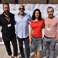 Crew of The Lake, Photo Call, TRT Industry Terace, Hotel Europe, 25th Sarajevo Film Festival, 2019 (C) Obala Art Centar
