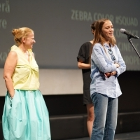 Producer Ada Solomon and director Ivana Mladenović, Q&A session, Ivana the Terrible, In Focus, National Theatre, 25th Sarajevo Film Festival, 2019 (C) Obala Art Centar