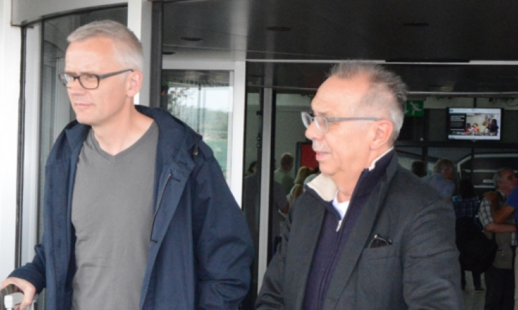 Dieter Kosslick and Christoph Terhechte Arrive in Sarajevo