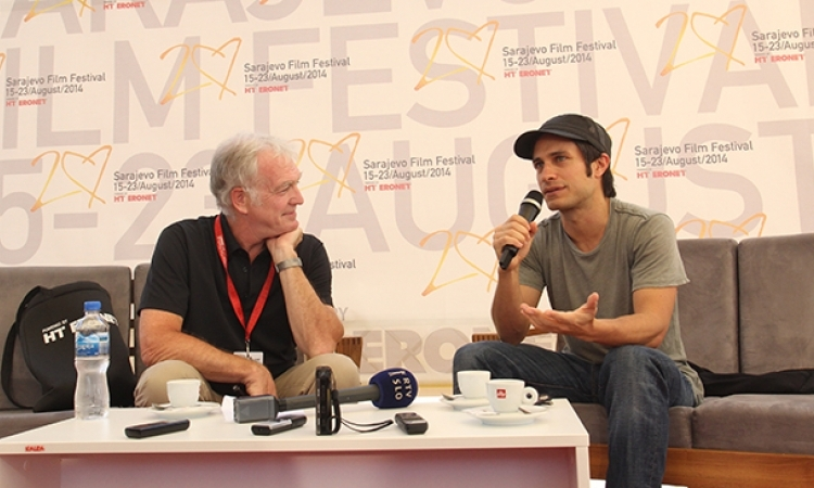 "Gael García Bernal Was Guest at the ""Coffee with…"" Programme"