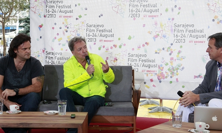 "Armand Assante and Ante Novaković Guests of ""Coffee with..."""