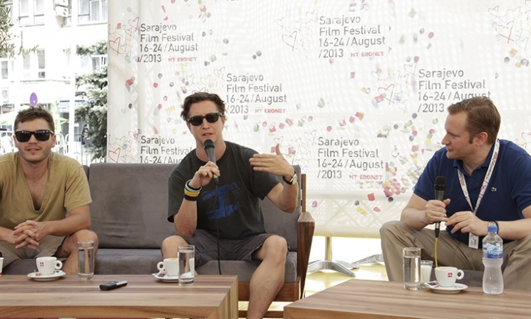 "Emile Hirsch and David Gordon Green Guests of ""Coffee with ..."" Programme"