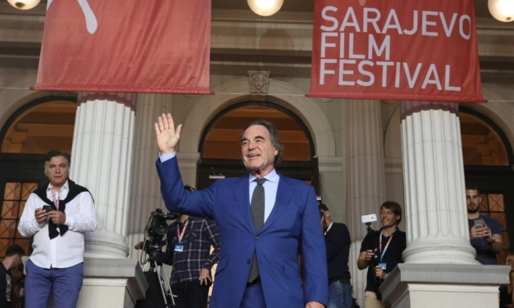 Honorary Heart of Sarajevo for Oliver Stone