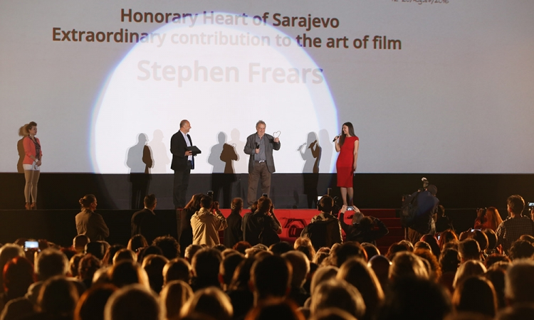 Stephen Frears Received Honorary Heart of Sarajevo Award