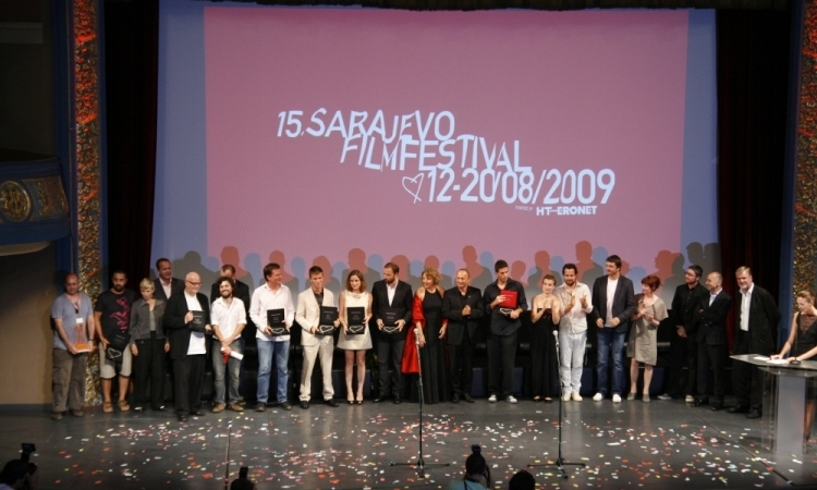 15th SARAJEVO FILM FESTIVAL awards