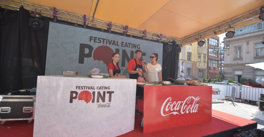 Festival Eating Point by Coca – Cola